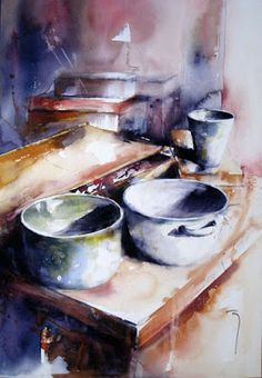 Catherine Rey watercolor artist The Watercolour Log