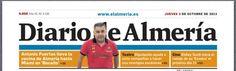 Portada del Diario de Almería - España