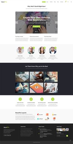 If you are looking for a simple way to showcase your tech startup, Startit WordPress theme has just what you need! Seo Analytics, Types Of Technology, App Landing Page, Create Your Website, Building A Website, Layout Template, Start Up Business, You're Awesome, Simple House
