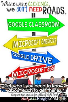 Are you wondering what your digital learning options are for your classroom? Between Google Drive, OneDrive, Google Classroom, and Microsoft 365 - this post has you covered! Learn about the similarities of each through a detailed comparison of each one. Whether you teach primary students, upper elementary, middle school, or high school - this article will ensure you know what technology to use in your classroom to help your students find success with your online teaching.
