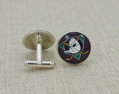 anaheim ducks cufflinks - Google Search Anaheim Ducks, Nhl, Cufflinks, Google Search, Accessories, Wedding Cufflinks, Jewelry Accessories