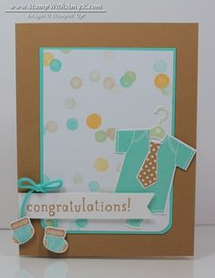Something for Baby - Stampin' Up! - Stamp With Amy K