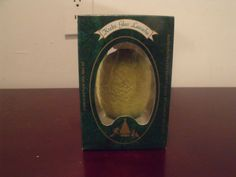 Krebs Glas Lauscha Blown Glass VINTAGE Fruit  Ornament Lime