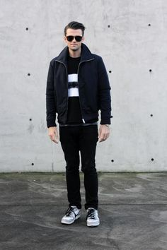 My friend, ex-coworker and style muse, Tom. Muse, Toms, Normcore, Chic, Blog, Jackets, Style, Fashion, Shabby Chic