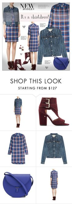"""""""It's a Shirt! It's a Dress! It's a Shirtdress!"""" by alves-nogueira ❤ liked on Polyvore featuring Laurence Dacade, Closed, rag & bone, PB 0110 and MANGO"""