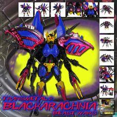Transformers Universe - Beast Wars Transmetal 2 Black Arachnia