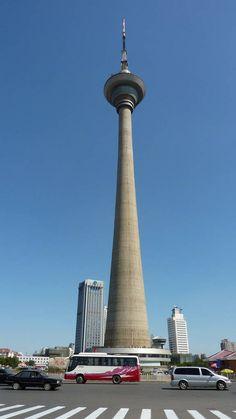Tianjin Radio and Television Tower, Tianjin, China (415m)