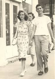 Couple from the 1940's