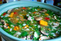 Bone Broth Soup To Heal Leaky Gut (Collagen-Rich For Cellulite Too!)   Organic Olivia