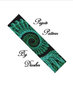 Peyote Beading pattern Bracelet Infinity. Even count 2 drop peyote stitch. Seed bead pattern. Beaded, beadwork, beadwoven, bead graph