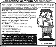 """Bouquets: How people with silly fake French accents pronounce """"bookcase"""" LOL --> THE WORDPUNCHER!"""