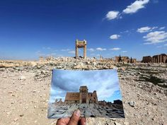 A series of before and after photos have emerged of the ancient Syrian site of Palmyra showing the extent of the destruction caused by Isis, a week after it was recaptured from militants. The group was driven out from the site on Easter Sunday, and journalists have been allowed in for the first time since government forces took over.