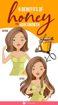 6 Amazing Benefits Of Honey For Hair Growth: Honey is an emollient which means it seals moisture in your hair, keeping it conditioned. This reduces breakage, which is often a cause for slower hair growth. Keep reading to find out more such benefits. Healthy Hair Tips, Healthy Hair Growth, Onion Juice For Hair, Hair Mask For Growth, Onions For Hair Growth, Honey Benefits, Oil For Hair Loss, Honey Hair, Hair Remedies