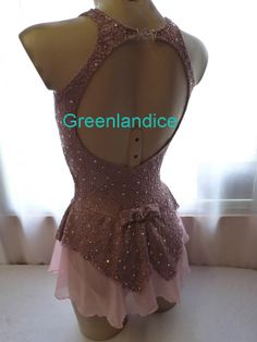 Laura design in pink. Available ready to wear at www.greenlandicestore.com