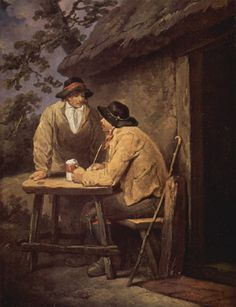 Before the Inn – George Morland 1792 « Sifting The Past