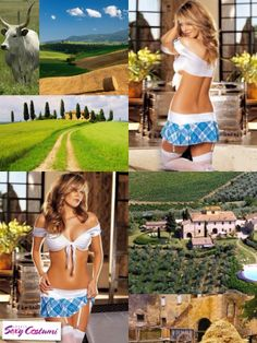 "Sei scappata dal caldo della città per respirare un po' di aria fresca in campagna !? http://www.sexycostumi.com/scolarette/2306-scolaretta-maliziosa.html   You ran from the heat of the city for a breath of fresh air in the country!? Even on vacation you have to be beautiful! you never have to stop to draw attention to yourself! transformed into a ""peasant glamor."" Dressed in our nasty disguises"