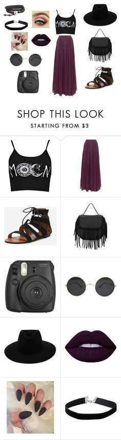 """Everyday 56"" by mellowstrange on Polyvore featuring Halston Heritage, rag & bone, Lime Crime and Miss Selfridge"