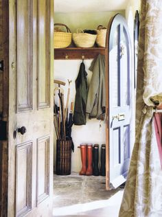 English Cottage Entry/Mudroom...