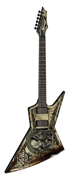Dean Guitars - Zero Dave Mustaine - In Deth We Trust