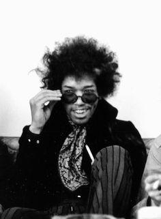 Jimi Hendrix, London, 1968