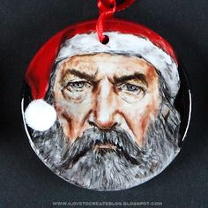 iLoveToCreate Blog: Duck Dynasty Ceramic Holiday Ornaments