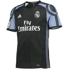 Official Adidas 2016//2017 Real Madrid Junior Boys 3rd Third Football Kit Shirt