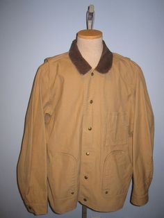 Vintage CC FILSON Tin Cloth Hunting Field Jacket Coat! Made in USA! RARE #Filson #BasicJacket