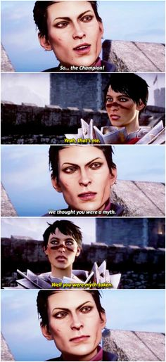 I hate how Hawke doesn't look anything like your import from Dragon Age II in Inquisition