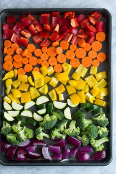 Roasted Vegetables - Cooking Classy