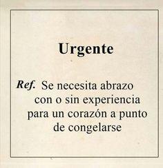 Urgente.