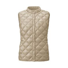 WOMEN Ultra Light Down Compact Quilted Vest