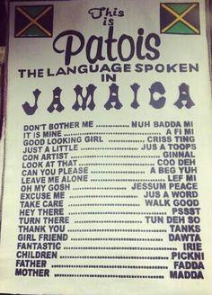 Jamaicans languange