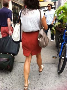 Elliott Lucca Aruba Drawstring Spotted on 6th Ave, NYC