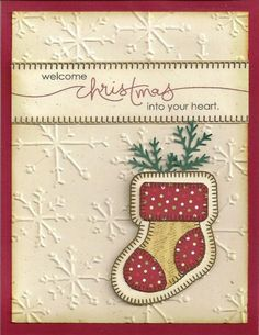 I was so surprised to see this card on here since it is one I made last year or the year before and posted it on the Waltzing Mouse site - glad someone liked it well enough to pin it!