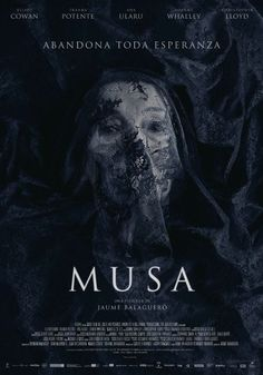 ilmax libera el cartel final del nuevo trabajo de Jaume Balagueró, Musa, que podrá verse estos días en el Festival de Sitges. Musa llegará a los cines el próximo 10 de noviembre.