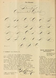Copperplate Calligraphy, Penmanship, Caligraphy, Lettering Guide, Hand Lettering, Hand Writing, Pencil Art Drawings, Script, Education