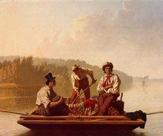 George Caleb Bingham, Boatmen on the Missouri
