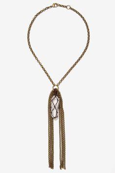 Heather Kahn Nightshade Chain Necklace - Accessories | Necklaces