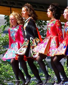 Irish dance - love the costumes & hair of the girls
