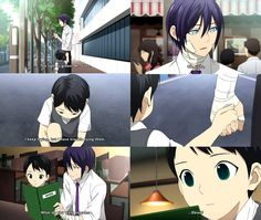 #Ebisu #Yato kawai <3  I'm literally watching this episode right now. Like at this moment