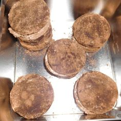 Schokoladenplätzchen mit Marshmallowfüllung