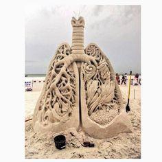 Lung sandcastle