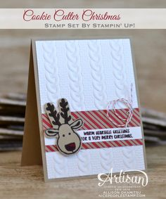 nice people STAMP!: Cookie Cutter Christmas Cards for the Inkin' Elite