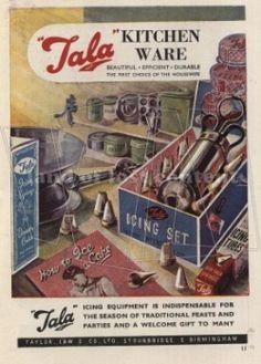 1948, Tala icing set ad