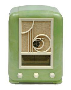 1937 Green Bakelite Mullard