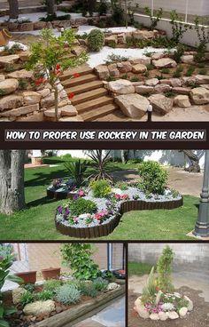 Garden Rockery Ideas For Your Yard Garden Designs Pinterest