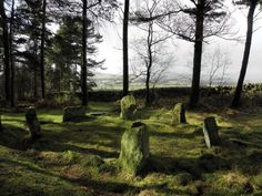 Doll Tor Stone Circle, Derbyshire Peak District, UK. Not too far a travel from home. possibly a day trip.