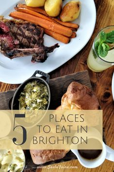 A short guide covering 5 restaurants you can't miss when in Brighton, UK. Brighton Uk, Casual Restaurants, Places To Eat, Pot Roast, Europe, Ethnic Recipes, Travel, Food, Carne Asada