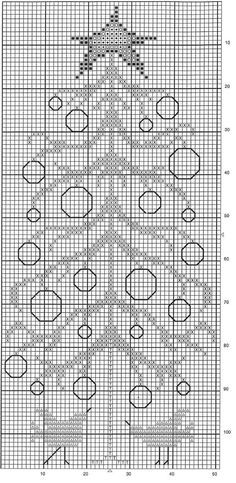 Button Tree Pillow pattern