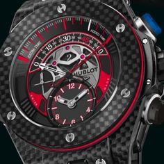 Hublot Big Bang Unico Bi-Retrograde FC Bayern München : prix, photos